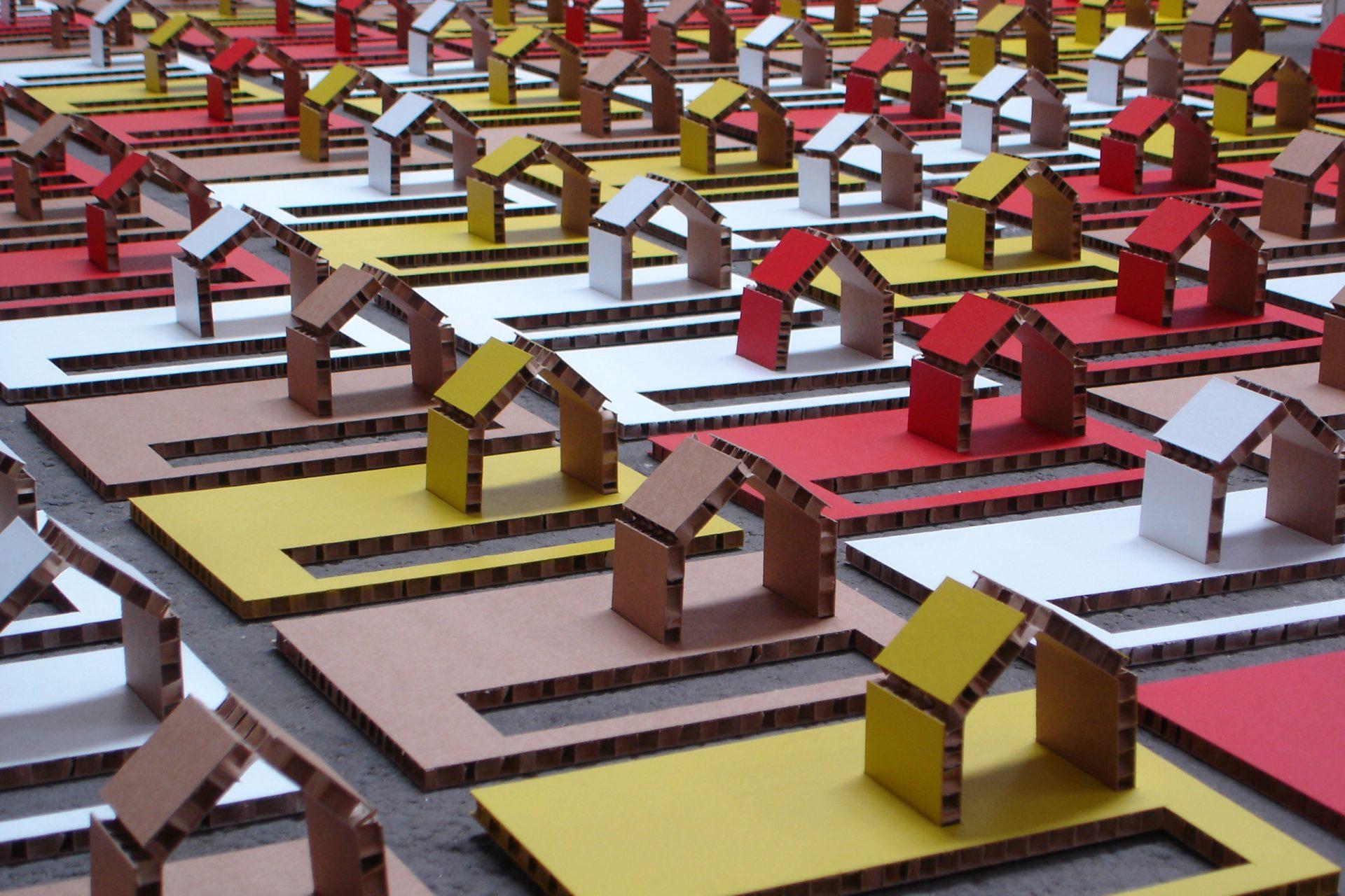 Casette montabili di cartone