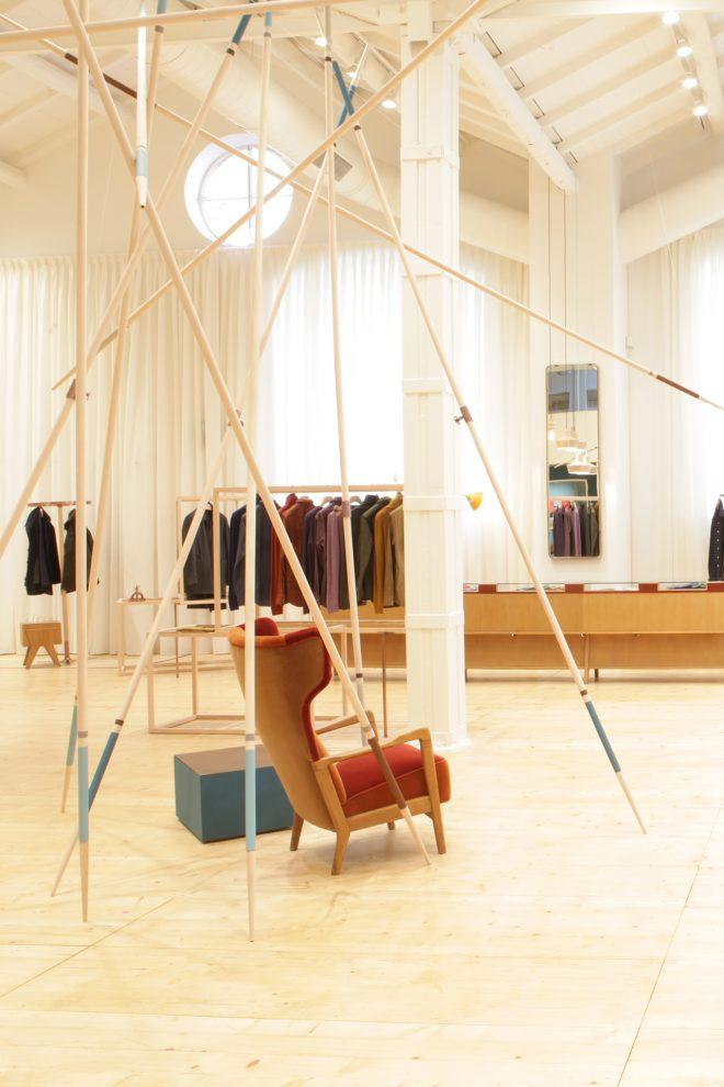 Concept estensibile per il retail