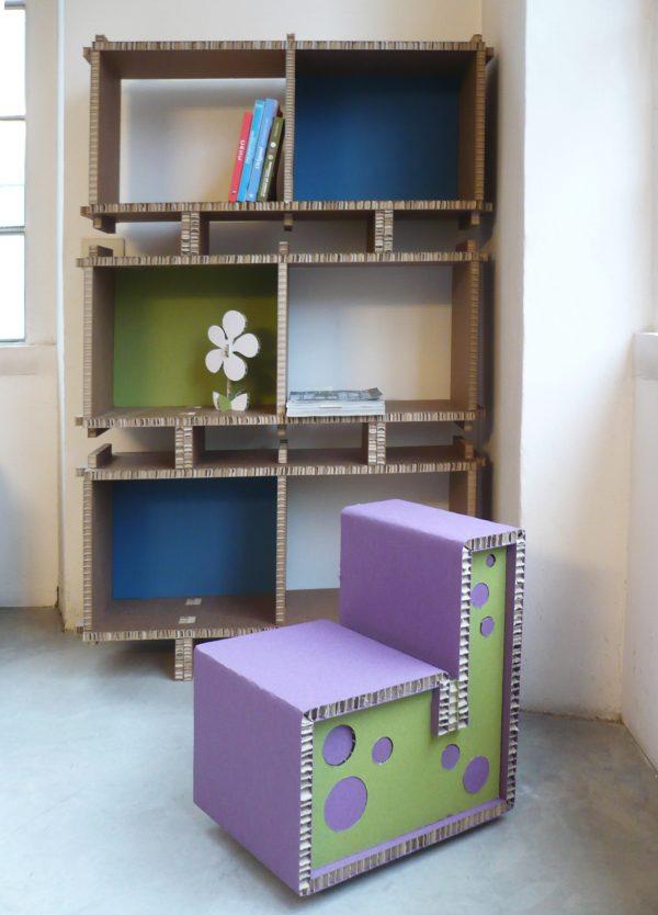 Biblioteca mobile per bambini