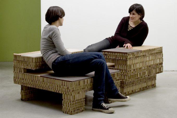 Sedie di design in cartone