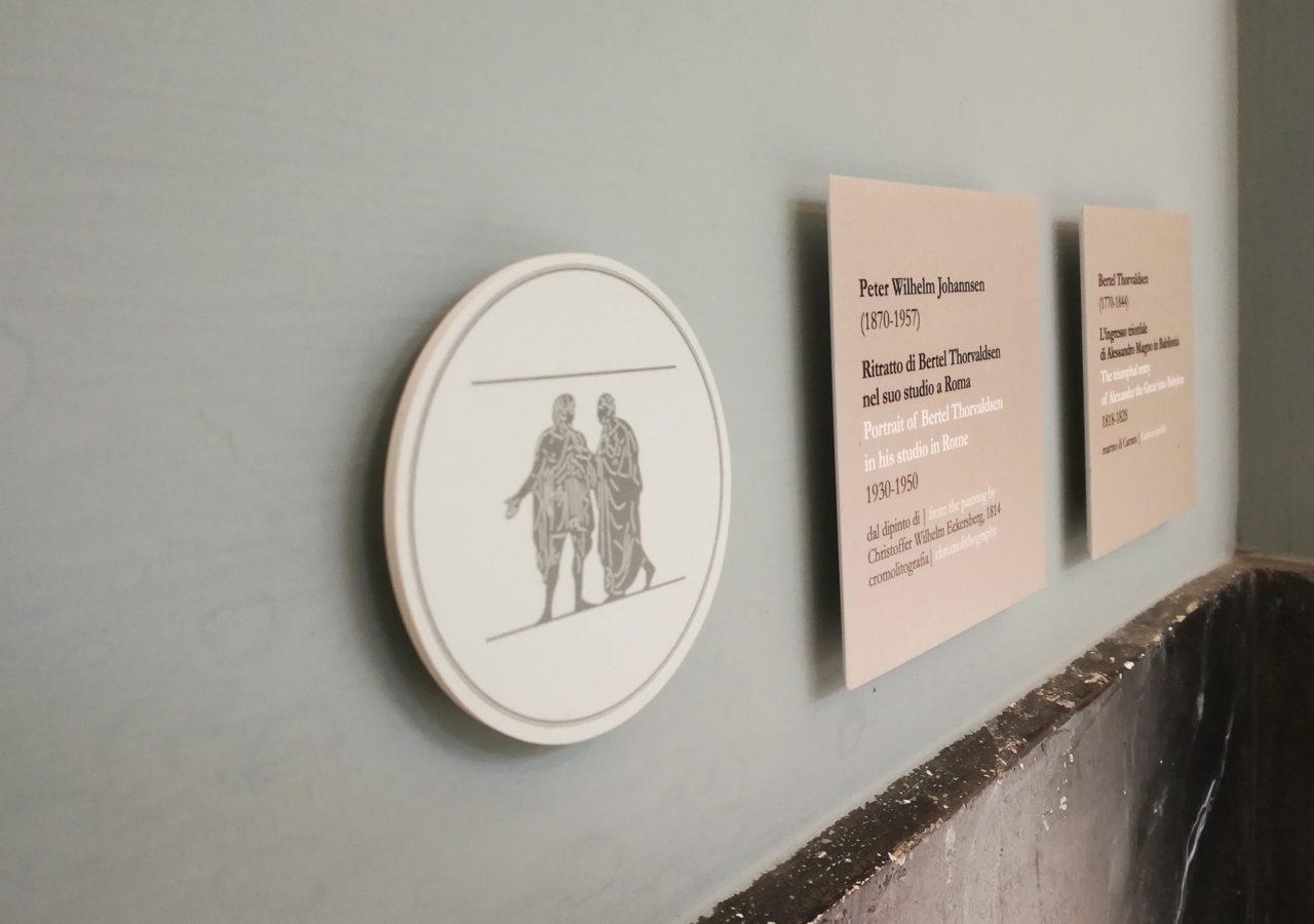 segnaletica per musei